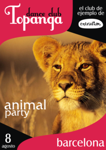 Event topanga animal