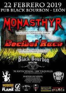 Monasthyr & Decibel Race at Black Bourbon
