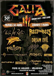 Galia Metal Fest - Edición Post Covid