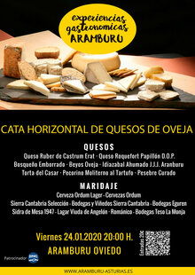 Event 20202401 cartel aramburu   cata horizontal queso oveja   cartel
