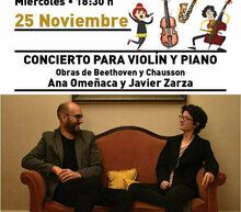 Event grid 25 nov para violin y piano