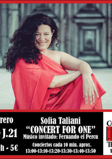 CONCERT FOR ONE Sofia Taliani
