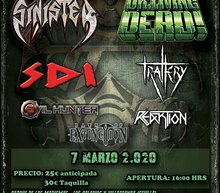 Event grid palacio metal fest vi