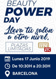 BEAUTY POWER DAY Barcelona 17/06/2019