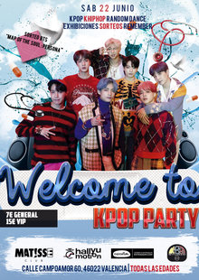 Welcome to Kpop Party Valencia 22/06/2019