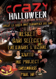 Event crazyhalloween2019 cartelcompleto