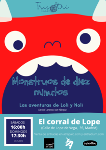 Event cartel monstruos