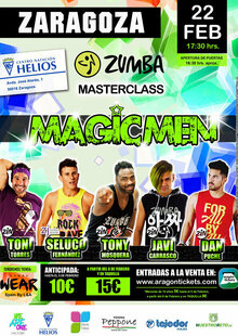 "ZUMBA MASTER CLASS ""MAGIC MEN"""