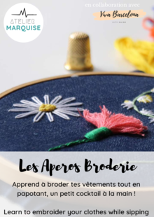 Apéro Broderie - After work / Café broderie à Barcelone