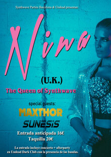 Nina, Queen of Synthwave + Afterparty