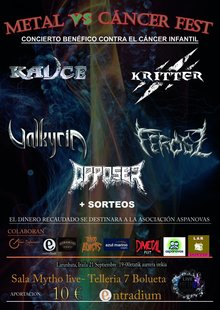 METALvsCANCER FEST