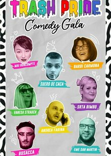 TRASH PRIDE COMEDY GALA