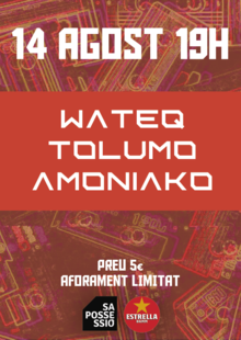 WATEQ | TOLUMO | AMONIAKO