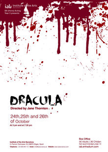 Event dracula poster entradium