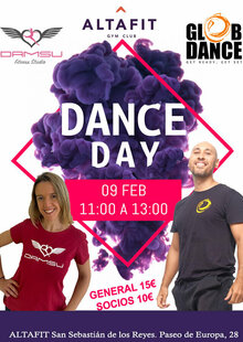 Event poster dance day