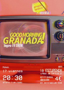 Event cartel goodmorning granada