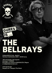 THE BELLRAYS | GURES IS ON TOUR