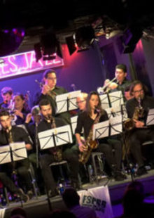 SAN PATRICIO BIG BAND FEATURING SISSI en Café Berlín, Madrid