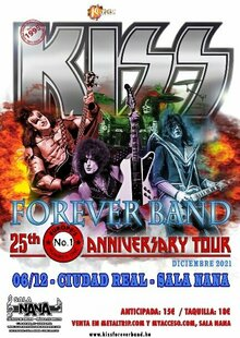 Kiss Forever Band en Ciudad Real