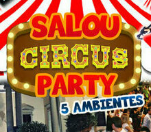 Event grid header circus party salou