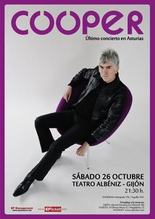 Event cartel cooper gijon mediano