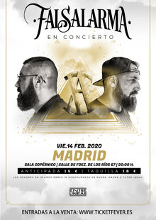 Event falsalarma oro y arena cartel madrid 9x16 02 2
