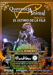 Event cartel querencia animal   musik box menorca