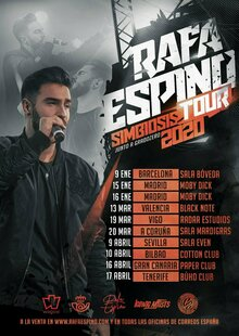 Event cartel simbiosis tour