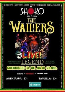 Event entradas wailers madrid