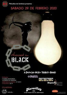Dressed In Black (Depeche Mode Tribute Band) en concierto