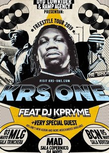 Event krs one gira