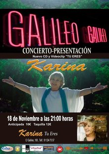 KARINA en Madrid - Galileo
