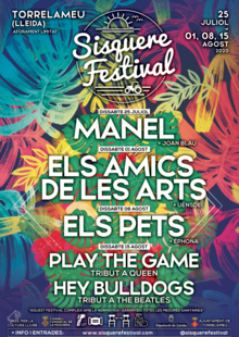 SISQUERE FESTIVAL - Play The Game + Hey Bulldogs (15-08-2020)