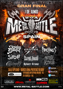 Final W:O:A Metal Battle Spain 2019