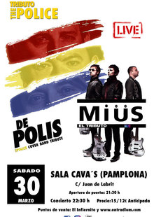 TRIBUTOS A POLICE Y MUSE PAMPLONA