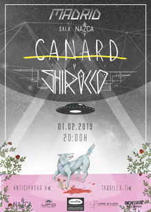 Canard y Shirocco en Madrid