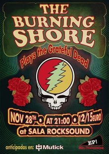 The BURNING SHORE tributo a Grateful Dead en Barcelona - RockSound