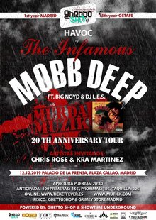 THE INFAMOUS MOBB DEEP MURDA MUZIK 20th Anniversary