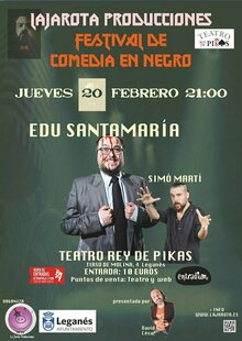 Event webcomedianegro reydepikas20feb