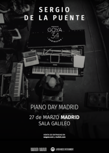 SERGIO DE LA PUENTE - INTERNATIONAL PIANO DAY en Madrid - Galileo