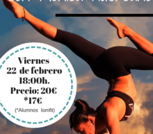 Event grid iomfit yoga rocket febrero 2019