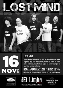Lost Mind en Directo
