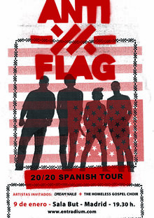 Anti-Flag en Madrid