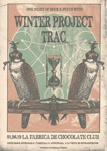 One Night of Rock & Psych: Winter Project + Trac (A Coruña)