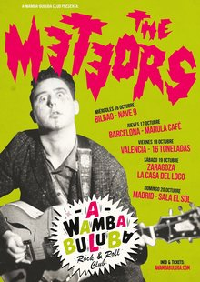 THE METEORS en Barcelona - Upload