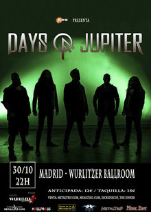 Event days of jupiter mad web