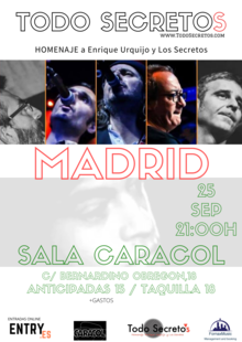Todo Secretos Madrid 25 sep