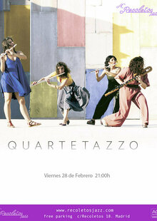Ac Recoletos Jazz:  QUARTETAZZO en Madrid