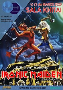 Event entradas iron maiden madrid
