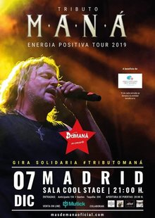 Event entradas tributo mana madrid